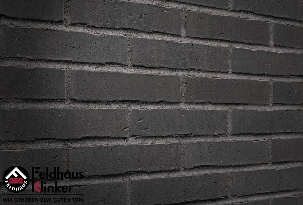 """Клинкерная плитка """"Feldhaus Klinker"""" для фасада и интерьера R736 vascu vulcano petino"""