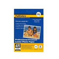 Фотобумага Fullcolors (luster) RC, 10x15, 50 листов, микропористая, на резиновой основе, плотность 270г\м