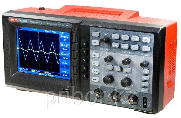 Осциллограф 100МГц, 2-х канальный UNI-T  UT2102C