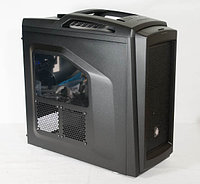 Корпус Cooler Master Storm Scout II Advanced (SGC-2100-KWN3) Black/Black, window, w/o PSU, 2 red led fan, ATX