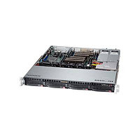 Supermicro CSE-813MFTQ-520/X11SSl-F/Intel Xeon E3 1220v5/32GB DDR4/2*SSD 120GB/2*2TB WD RE/520W Power Supply