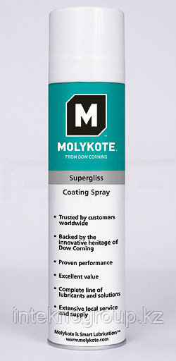 Dow Corning Molykote Supergliss spray 400 мл.