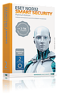 Антивирус ESET NOD32 Smart Security Platinum Edition (BOX) База лицензия на 2 года на 3ПК