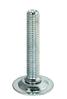 Винт регулировочный М 10 мм х 100 мм, с продольным шлицом