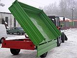 Тракторный полуприцеп ТСП-6т к тракторам МТЗ-82, грузоподъемность 4,4 т, объем 5 м3, фото 3