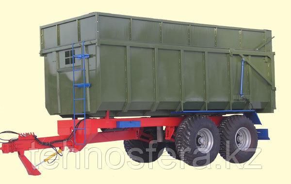 Тракторный прицеп ТСП-20 грузоподъемность 15 т, объем 20-27 м3