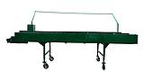 Инспекционный стол 1000х4000 с роликовым полотном, фото 2