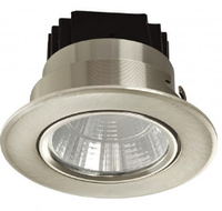 Спот LED COB 02 5W 5000K CHROME (TS) 100шт