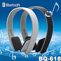 "Наушники ""Bluetooth V3.0 Headphones+ microphone   BQ -618,Distance  up to 20 meters"""