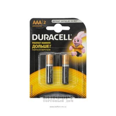 Батарейки мизинчиковые Дюрасэл - Duracell NH Basic AAA 2шт