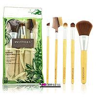Бамбуковые кисти для макияжа Ecotools набор 5 шт, фото 1