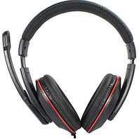 "Наушники ""Headphones+ microphone  OVLENG  Q1,Ø 40mm,32Ω ±  15℅,104± 2 dB,20-20,000Hz,120mW,USB,2.2m"""