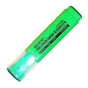 Маркер текстовой, 2-4мм, скош.наконечник, зеленый Epene