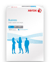 Бумага А4, 80 г/м2, Xerox Business, 500л, CIE 164, класс В (Финляндия)