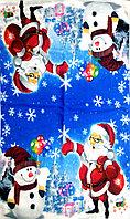 """Полотенце микрофибра """"Дед мороз"""", фото 1"""