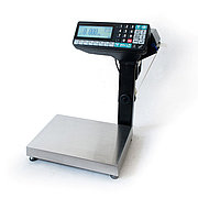 Scales with label printing