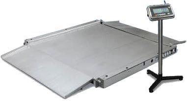 Весы низкопрофильные (пандусные) 4D LA.S 2 1500 A, фото 2
