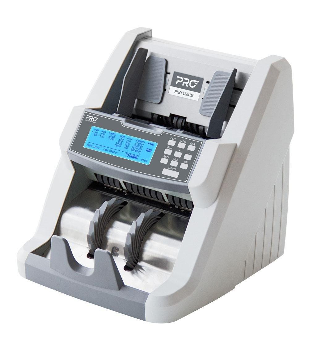 Профессиональный счетчик банкнот с суммированием по номиналам PRO 150CL/U