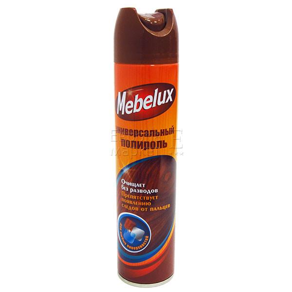 Полироль для мебели Mebelux для любых поверхностей 300мл