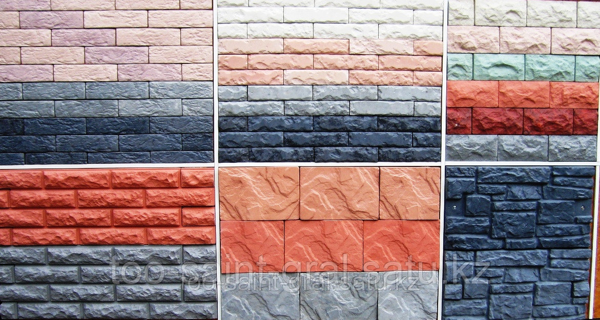 Пластиковые формы для производства Искусственного камня в ассортименте