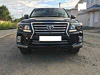 Обвес Lexus style на  Toyota Land Cruiser 200 (Пластик)