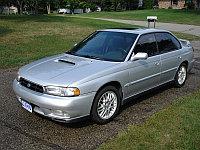 Защита картера Subaru Legasy 1998-2003