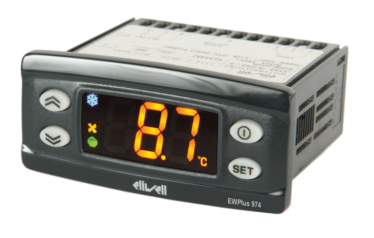 Контроллер Eliwell ID 985 LX (/CK), HACCP и HotGas