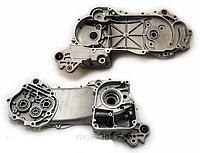 """Левая половина картера, база скутера с дисками на R-12"""" /двигатель 4T 139QMB"""