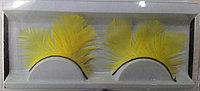 Ресницы декоративные, перьевые