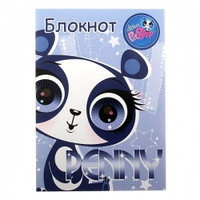 Записные книжки и канцелярия Littlest Pet Shop Блокнот 40л клей 120х170 Littlest Pet Shop выб УФБлокнот 40л клей 120х170 Littlest Pet Shop выб УФ