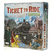 HOBBY WORLD 1032 Ticket to Ride: Европа - Билет на поезд: Европа