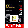SanDisk Extrime 32GB SDHC 90MB/s Class 10