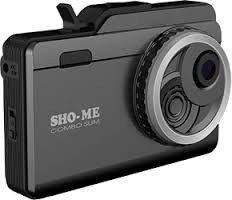 Авто видеорегистратор с антирадаром Sho-Me Combo Slim Signature  Ambarella A12