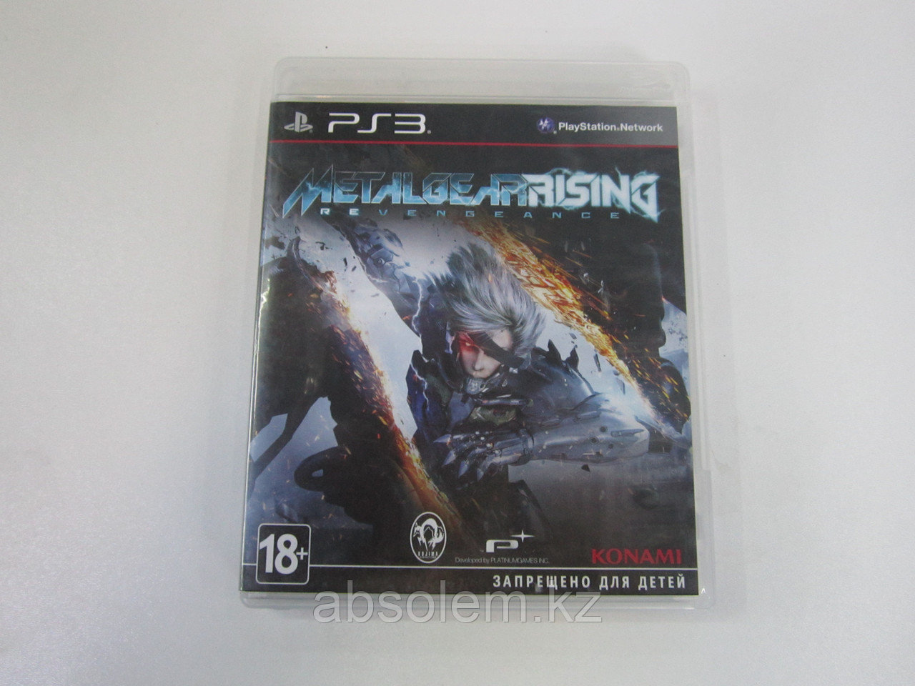 Игра для PS3 Metal Gear Rasing Revengeance (вскрытый), фото 1