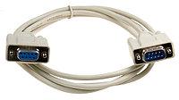 кабель COM RS232  DB9 для компьютеров, ресиверов и принтеров, 9M/9F  RS232  1.3м