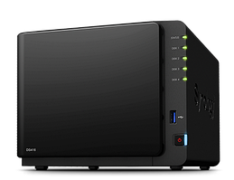 Synology DS416   4xHDD NAS-сервер