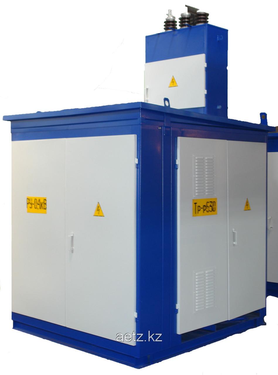 Комплектная трансформаторная подстанция наружной установки КТПН 160-10(6)/0,4 кВа