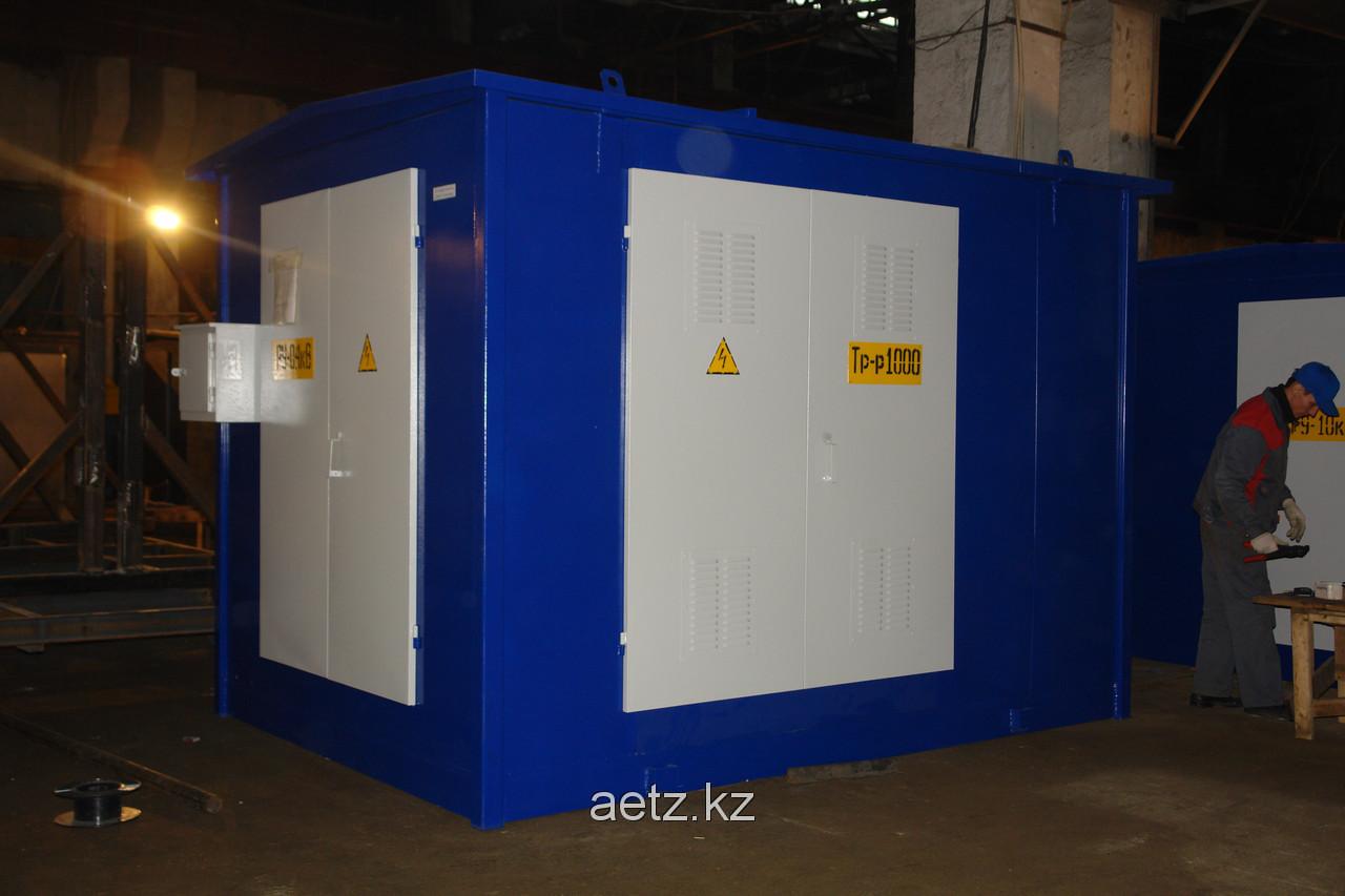 Комплектная трансформаторная подстанция городского типа КТПГ 160-10(6)/0,4 кВа