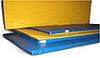 Мат гимнастический 2,0х1,0х0,1м цветной(тентовый) низ противоскользящий