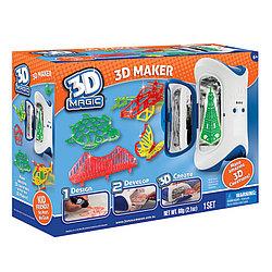 Набор 3D Magic для создания объемных моделей 3D Maker, 3Д Маджик