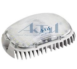 Светодиодный ЖКХ светильник СА-7115Е постоянного горения ударопрочный (антивандальный) двухрежимный IP65