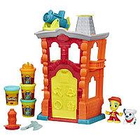 """Набор пластилина Play-Doh Town (Город) """"Пожарная станция"""""""