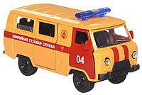 Технопарк УАЗ 39625 Аварийная газовая служба металлическая модель