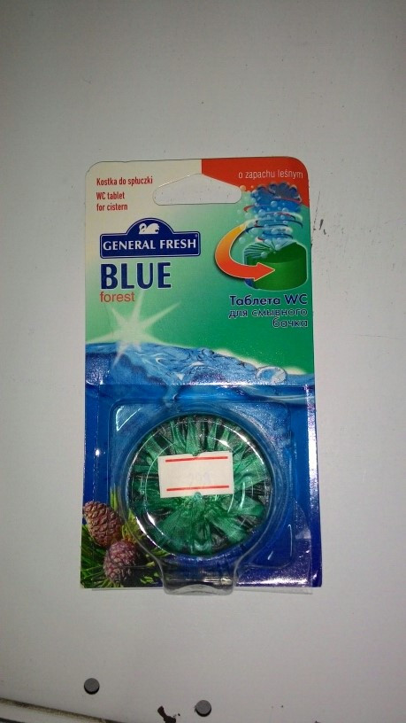 Таблетки для сливного бачка Blue 1шт лес