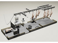 Модуль убоя свиней с холодильником, 30 голов смена