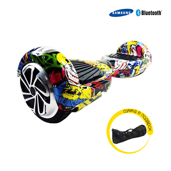 Гироскутер Smart Ballance Wheel 6.5 Граффити Bluetooth Samsung + сумка в подарок