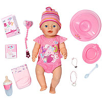 Интерактивная кукла-пупс Baby Born с аксессуарами, 43 см