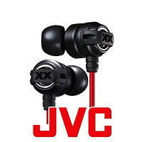 "Наушники ""Headphones for iPad / MP3 / iPone  JVC HA-FX1X Noise isolation, Ø15mm, 104dB/mW,5-23,000Hz,1.2m"""