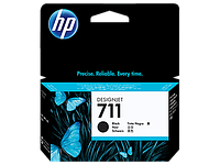 HP  Black Ink Cartridge №711 for Designjet T120/T520 ePrinter, 38 ml. ;