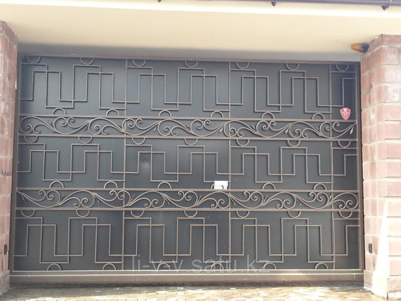 Кованные ворота из металла